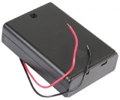 PRO POWER PP002098  Battery Box, 3X Aa, Wired